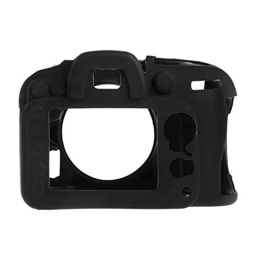 Lsmaa Funda de silicona suave para cámara Nikon D7200 D7100, funda protectora del cuerpo