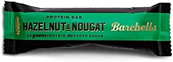 Barebells Protein Bar Hazelnut & Nougat 12 Bars