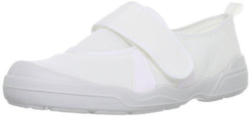 [ムーンスター] 上履き 日本製 2E メンズ レディース MSオトナノウワバキ02 ホワイト 23
