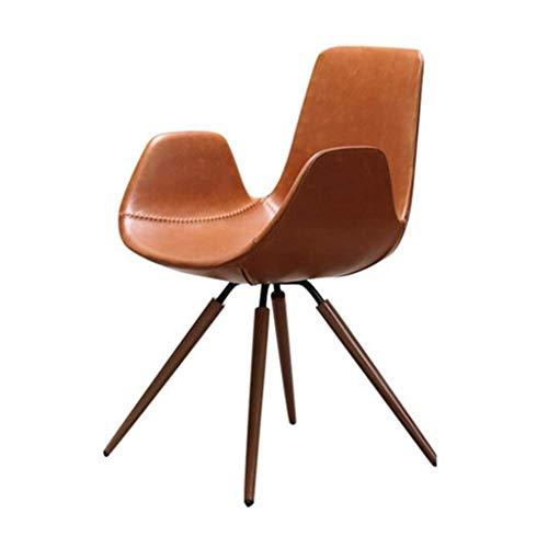 MMAXZ Stuhl Computer-Stuhl, Moderne Lederstühle Esszimmer, Küche, Wohnzimmer, Schlafzimmer (Größe: 48 * 48 * 83cm)