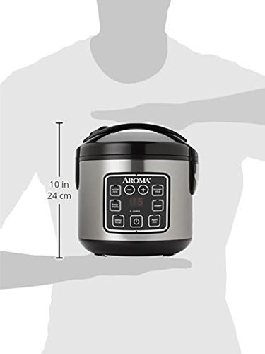 Product Image 9: Aroma Housewares 8-Cup (cooked)/ 2 Quart Digital Cool-Touch Rice Cooker & Food Steamer