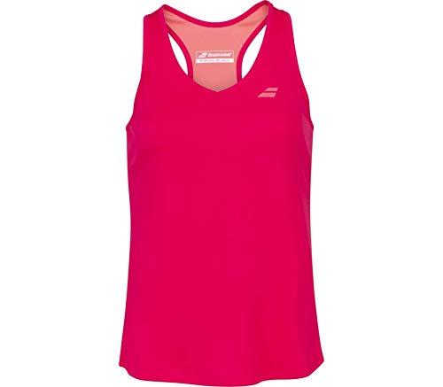 Babolat Play Tank Top Women Camiseta De Tirantes, Mujer, Red Rose, M