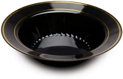 BRT-Style Black with gold round na-like Weekly update 150 oz. bowl 12 shopping pack M