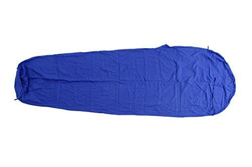 Basic Nature Inlett Coton Unisexe Momie coutil Taille Unique Bleu