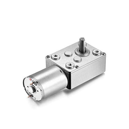 New Lon0167 JSX69-370 DC Destacados 12V 120RPM 6mm eficacia confiable Eje alto Turbina de tornillo sin fin Motor de reducción de la caja de engranajes de tornillo sin fin(id:1ff 92 60 eba)