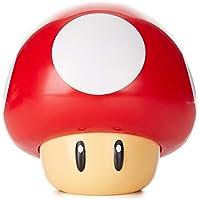 Paladone PP4017NNV2 Super Mario Svamp Lampa med Ljud, Röd, Vit, 13 x 13 x 12 cm