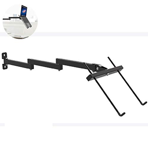 Convenient Practical Pc Monitor Arm Bracket for Laptop with Ergonomic Tilt Swivel Adjustable Arm Supports 13-17'' Computer, Notebook, iMac, Pc,Single Arm