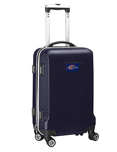 Denco NCAA Pepperdine Waves Carry-On Hardcase Luggage Spinner, Navy