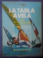 La tabla a vela (cómic de windsurf)