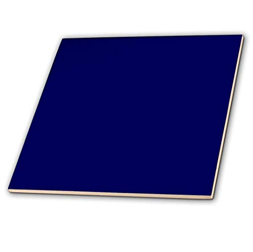 3dRose Navy Blue - Ceramic Tile, 6-inch (ct_30649_2)