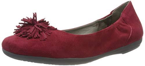 Marc Shoes Damen Janine Ballerinas, Rot