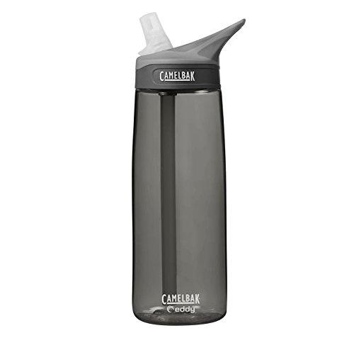 Camelbak Erwachsene Wasserflasche Eddy 0.75 Liter Trinkflasche, schwarz, 25 oz / 0.75L