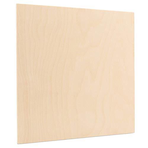 3//8 x 24 x 30 New Woodcraft Woodshop Single Piece of Baltic Birch Plywood 9mm