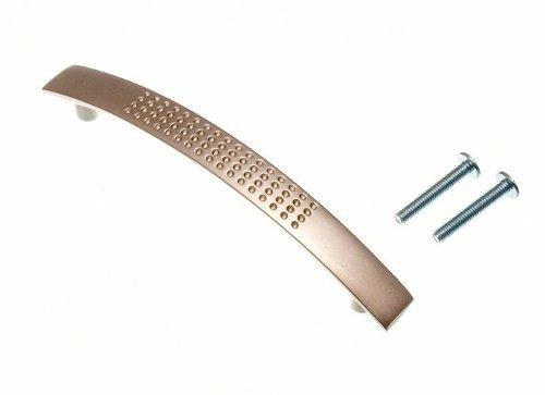 porte de l'armoire de cuisine traction fossette d gérer chrome mat 96mm (Pack 2)