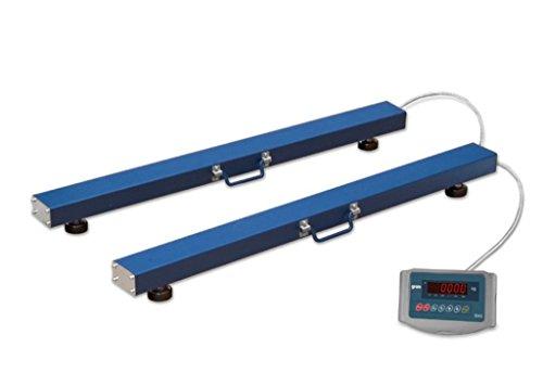 Barras pesadoras modelo k3 zebra-8-600 (600Kg/200g)
