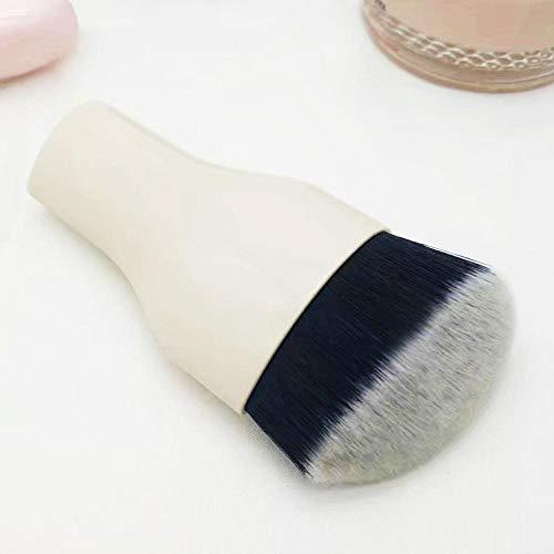 Multi-fonction mini portable beauté outils maquillage brosse unique fondation brosse coloré beauté blush brush white