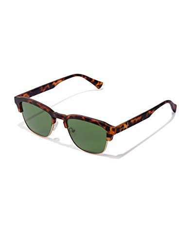 HAWKERS New Classic Sunglasses, verde, One Size Unisex Adulto