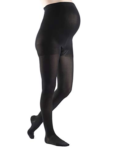 SIGVARIS Women's Style Soft Opaque 840 Closed Toe Maternity Pantyhose 20-30mmHg