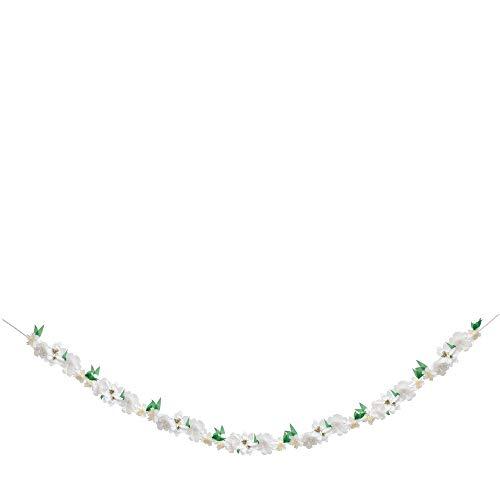 Meri Meri, White Blossom Garland, Birthday, Party Decorations