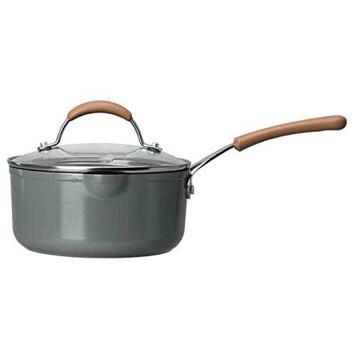 YZZ Maifan Piedra Leche Pot Sopa Pote Non-Sobry Pot Niños Comparentario Pot Pot Noodle Pot Xueping Pequeño Cacerola (Size : 18cm)
