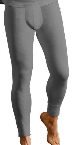 Sous-vêtement thermique - caleçon long et chaud pour hommes - Anthracite - Taille 6 (XL)