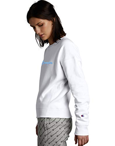 31 8x8H04cL - Champion Women's Reverse Weave Crew Sweatshirt