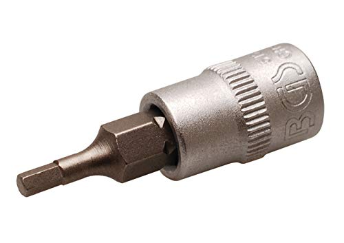"""Preisvergleich Produktbild BGS 5154 / Bit-Einsatz / 6, 3 mm (1 / 4"""") / Innensechskant 2, 5 mm"""