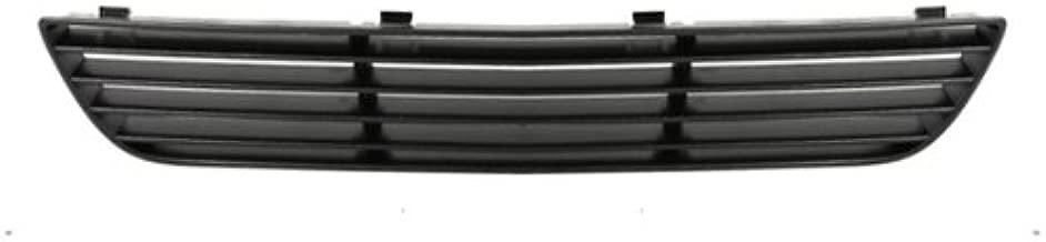 CarPartsDepot, Front Bumper Lower Grille Raw Black Plastic, 400-151132 GM1200548 15276074