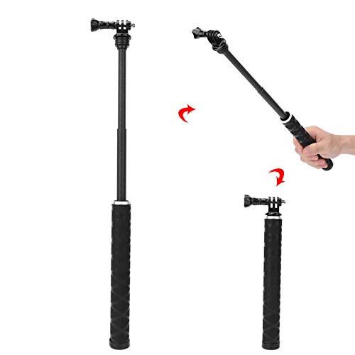 DAUERHAFT Trípode Selfie Stick de 35,4 Pulgadas, para GoPro8, para Bloqueo de teléfono móvil
