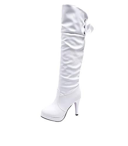 Scarpe da donna Miss Fortan Donna Stiletto Coscia Alta