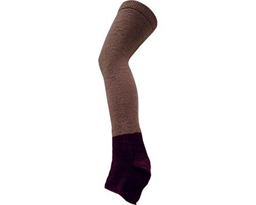 介護用ゆったりカバーソックス オープントゥ フリーサイズ ベージュ 53 (太陽ニット) (靴下)