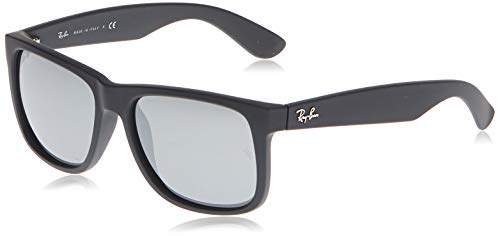 Ray-Ban 0RB4165 Justin Classic Sonnenbrille Large (Herstellergröße: 55), Schwarz (Negro)