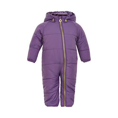 MINYMO Baby Mädchen Schneeanzug Wagenanzug Winter-Overall, Größe:74, Farbe:Loganberry