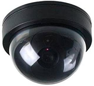 BW Cámara Falsa de Seguridad para el hogar cámara de Seguridad simulada cámara de Seguridad Domo con luz LED Intermitente
