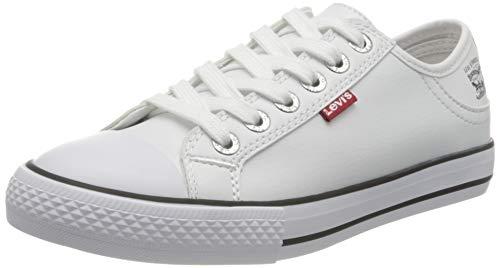 Levi's 222984-794-50, Zapatillas para Mujer, White, 39 EU
