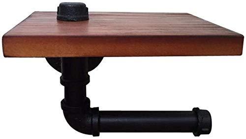 MKXF Toallero de Creatividad montado en la Pared, Soporte de Toalla de tubería de Agua Retro Industrial, Colgador de paños de Cocina