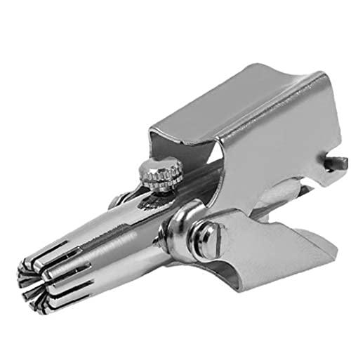 OMMO LEBEINDR Trimmer de la Nariz Trimmer de Acero Inoxidable Nariz Removedor de Pelo Dispositivo Remocal de Pelo Lavable portátil Pelo, Herramientas de Cuidado de la manicura de la Piel