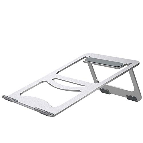 "Laptop Stand, Portable Laptop Cooling Desk Holder, Adjustable Notebook Riser Mount, Aluminum Ventilated Computer Stand, Compatible with 10-15.6"" Laptops"