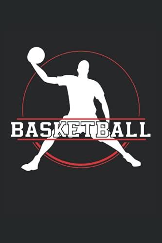 Baloncesto: Cuaderno de rayas cuaderno de escritura diario libro de tareas libro de cuentos (15,24 x 22,86 cm; ca. A5) 120 páginas. Para los amantes ... dunk slamdunk equipo de baloncesto
