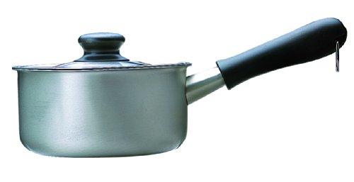 柳宗理 ステンレスミルクパン 16cm  ふた付き つや消し