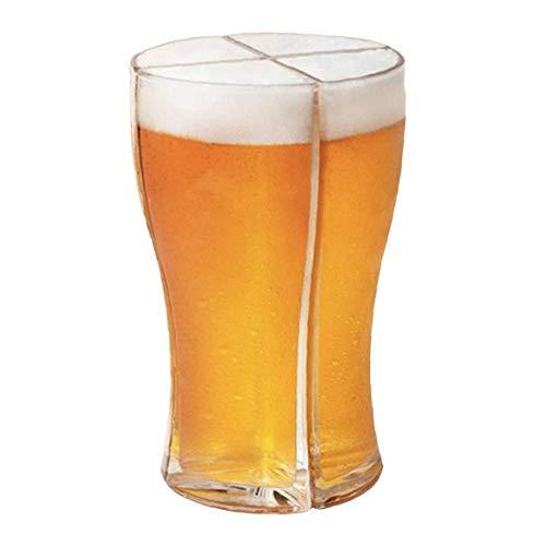LjzlSxMF Personalizada 4 en 1Glass Cerveza Copas, hogar, restaurantes y Fiestas Tazas...
