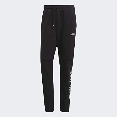 adidas Athletics Com PK Pantalones Deportivos, Hombre, Negro (Black/White), XL