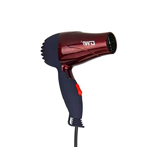 Tree-on-Life GW-555 1500W Mini secador de Pelo portátil Plegable Plegable de bajo Consumo Estudiantes de la Escuela Soplador de Aire Compacto Ventilador de Viajero