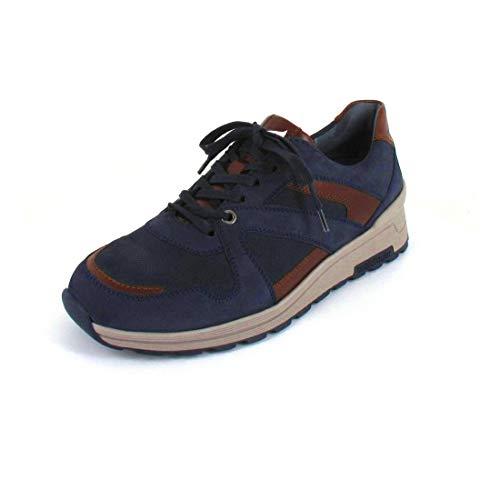 Waldläufer H-Etienne, Sneaker, Denver/Riva/Buthan, Marine COG. LS: grau, Weite H, 734002-500-417 (Größe: 45)