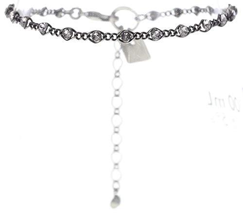 Konplott Magic Fireball Mini Armband für Frauen | Exklusiver Designer-Schmuck mit Swarovski-Steinen | Verstellbares Armband | Handgefertigte & limitierter Damen-Schmuck | Modeschmuck für Sie | Weiß