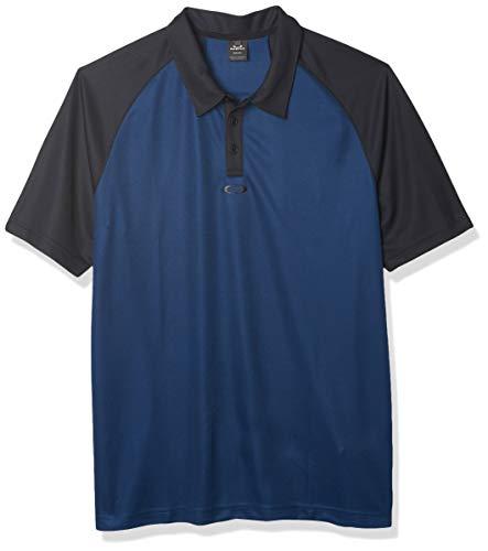 Oakley Hommes Traditionnel Respirante Comfort Polo de Golf - Universal Bleu - S