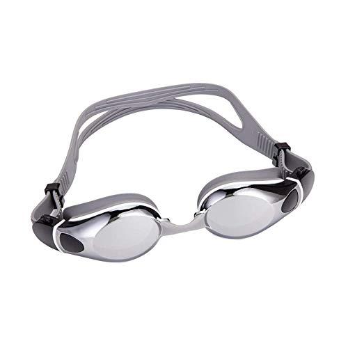 Gafas de natación sin fugas anti niebla protección nadar con funda para adultos