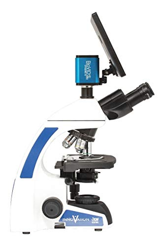 LW SCIENTIFIC Microscope, Trinocular, 40X to 1000X Optical Magnification, Light Source LED, Compound