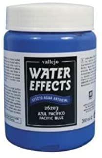 Vallejo Val26204 Water Effects - Atlantic Blue 200Ml Model Making / Railways Boats