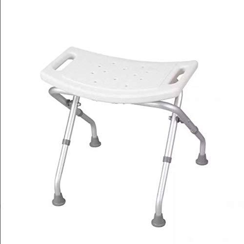 WXDP Autopropulsado Taburete de Ducha Silla de baño Plegable Alfombra de baño Silla de Maternidad para discapacitados Silla de Ducha de Aluminio